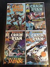 CRASH RYAN #1 2 3 4 COMPLETE SET HIGH GRADE RON HARRIS EPIC COMICS