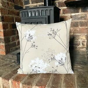 1120. Romo Ammi Stucco Floral 100% Linen Cushion Cover Various sizes