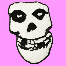 Misfits Skull Punk Rock Music Band Heavy Metal Ghost Iron On Embroidered Patch