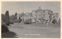 POSTCARD  SCOTLAND    ABOYNE   Huntly  Arms  Hotel       RP