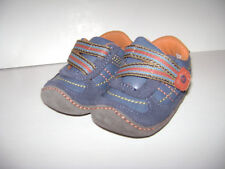 STRIDE RITE CRAWL FRESH FRASER BABY BOYS SHOES size 2 M BLUE SOFT SOLE LEATHER
