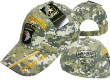 U.S. Army 101st Airborne Screamin Eagles Camo Shadow Embroidered Cap Hat (TOPW)