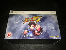 NEW & SEALED STREET FIGHTER IV (4) Collectors Edition XBOX 360