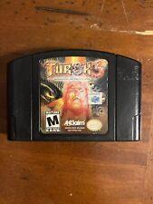 Turok 3: Shadow of Oblivion (Nintendo 64, N64 2000) Tested & Working