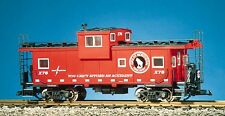 USA Trains 12110 G Scale Extended Vision Caboose Great Northern red/silver