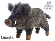 Wild Boar Mama Plush Soft Toy by Hansa   2830