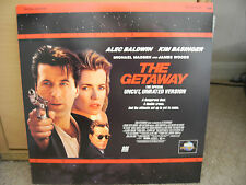THE GETAWAY Letterboxed Edition Laser disc