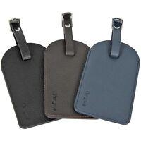 Targus Leather Luggage Tags - 3 pack LT001