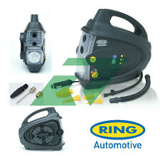 Ring 12V RAC640 Automatic Air Compressor Car/Van Tyre/Bike Pump/Inflator & Case