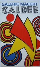 Alexander Calder (1898-1976) Calder Galerie Maeght Orig Plakat Lithografie 1970