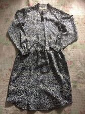 Delightful DAMSEL IN A DRESS Shirt Dress-size 8- Also Fits 10. Black White