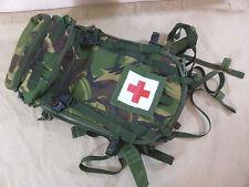 GB UK British PLCE ZAINO Medical BACKPACK DPM grande Paramedico Zaino MINT