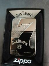 Zippo Jack Daniels No7 Heavy Wall Black Ice Armor Case