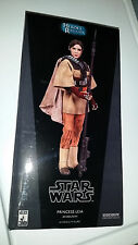 "STAR WARS Leai BOUSHH Sideshow 12"" ACTION FIGURE Empire Force SKYWALKER Fisher"