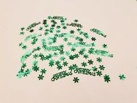 PARTY FOIL CHRISTMAS TABLE CONFETTI - SCATTER / SPRINKLE / DECORATION ALL COLOUR