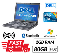 Cheap Dell Laptop Core 2 Duo 4.0Ghz Windows 7 DVD WIFI Fast&Free Shipping in UK