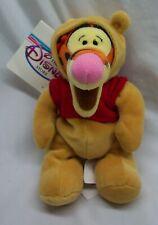 "Disney TIGGER IN WINNIE THE POOH BEAR COSTUME 7"" Bean Bag STUFFED ANIMAL NEW"
