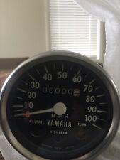 Yamaha RD125 1975 NOS OEM speedo #MT378