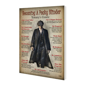"""""""Becoming A Peaky Blinder"""" wall art - graphic art poster - Size A2"""
