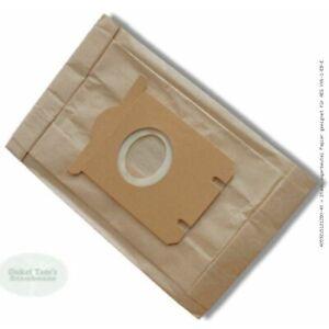 40 x Staubsaugerbeutel Papier geeignet für AEG VX6-1-EB-E