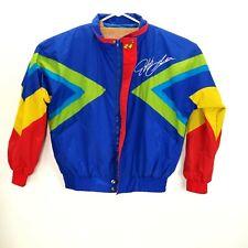 Vintage Jeff Gordon Windbreaker Jacket Mens 90s Nascar Dupont Racing SZ M