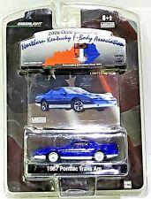 Greenlight 1987 Pontiac Trans Am Blue Northern Kentucky F-Body Association 1/64