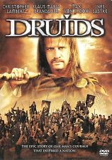 Druids ~ Christopher Lambert Max Von Sydow ~ DVD ~ FREE Shipping USA
