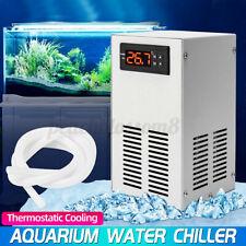70W 20L Aquarium Water Chiller Fish Shrimp Tank Cooling Lcd Display