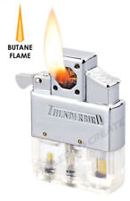 Thunderbird Butane Cigar Pipe clear Piezo Insert Soft Flame Vector works w zippo