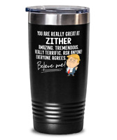 Funny Zither Player Trump Gift   Zither Tumbler Mug for Musical Instrument Music