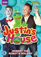 Justin's House: Robert The Robot's Holiday [DVD][Region 2]