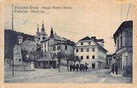 4940) SLOVENIA, POSTUJNA GLAVNI TRG, POSTUMIA GROTTE PIAZZA VITTORIO VENETO VG.