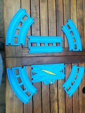 Trackmaster TOMY Tomica 5 x Double Track Blue Track 1 x points Thomas the Tank