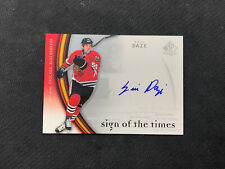 2005-06 UPPER DECK SP AUTHENTIC ERIC DAZE SIGN OF THE TIMES AUTO #ED