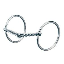 "Weaver All Purpose Ring Snaffle Bit, 5"" Single Twisted Wire Mouth"