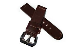 Premium 24mm Handmade Leather Watch Strap Panerai , Radiomir , vintage , AMMO