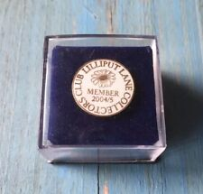 Lilliput Lane Collectors Club Lapel Pin Member 2004/5