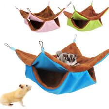 Hamster Warm Guinea House Squirrel Soft Rat Hanging Hammock Pig Pet Bed Ferret a