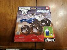 K'Nex Monster Jam U.S. AIR FORCE AFTERBURNER Building Set Truck and Mini Figure