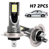 2PCS H7 voiture LED phares antibrouillard CREE Kit 200W 6000K HID Canbus BR