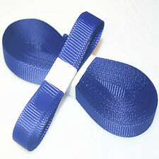 "5yds 3/8"" (10 mm) Dark Blue Solid Christmas Grosgrain Ribbon Hair Bows Ribbion"