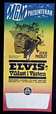 ELVIS PRESLEY ORIGINAL FILMPLAKAT HARTE FÄUSTE HEISSE LIEDER 1968 Stay Away Joe