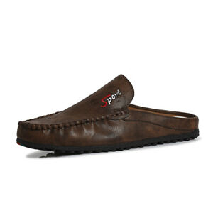 Home and Leisure New Men's Fashion Slippers Driving Walking Moccasin Flat Shoes