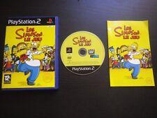 LES SIMPSON LE JEU : Sony PLAYSTATION 2 PS2 (complet, envoi suivi)