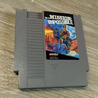 Mission Impossible Nes Nintendo Ultra