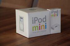 Brand New Sealed Apple iPod Mini 1st Generation 4GB Silver Big Box Edition+Dock