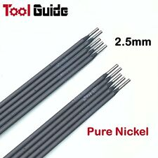 10pc 2.5mm Pure Nickel CAST IRON 10 Pack Stick ARC Welding Rods Electrodes ENiCI