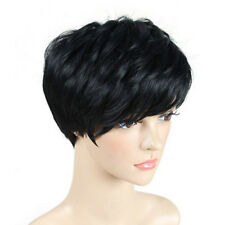 High Quality Hair Black Pixie Short Cut Wigs None Lace Wig For Black Ladies WE9X