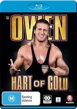 WWE Owen Hart Of Gold (Blu-ray, 2016, 2-Disc Set) N & S