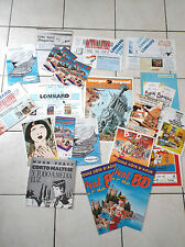 Lot d'articles promotionnels BD Dargaud Novedi Corto Maltese
